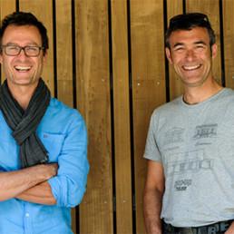 Pierre Fromantin et Gilles Artue, fondateurs Wood-e-Wood